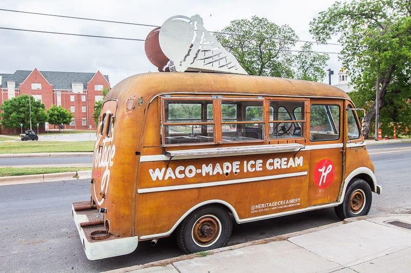 heritage creamery waco texas