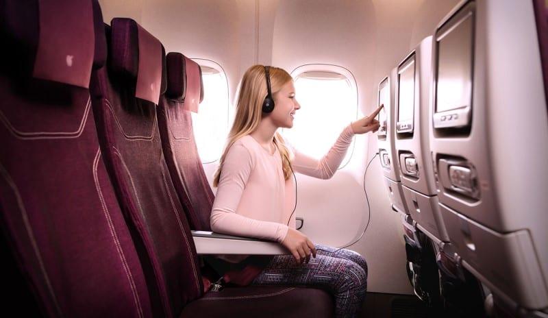 Qatar airways inflight entertainment for kids