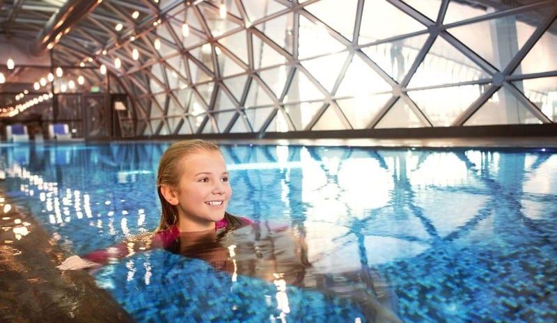 kids pool qatar airways Hamad international airport