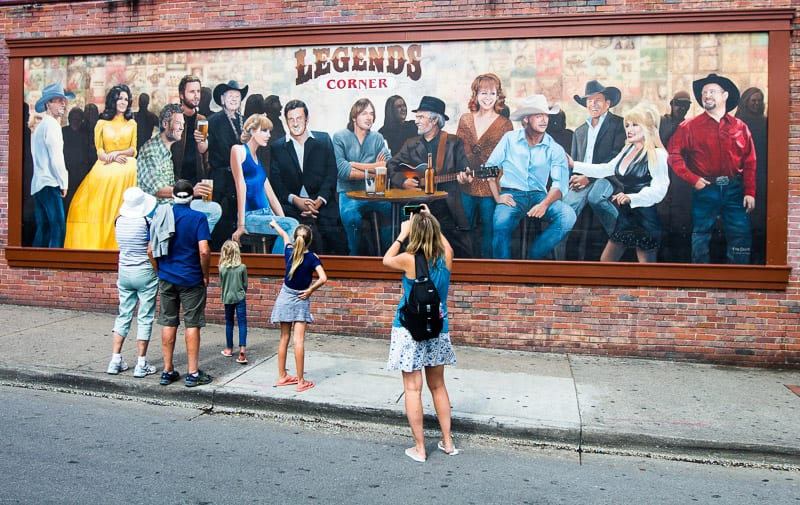 Legends Corner on Broadway Nashville, Tennessee