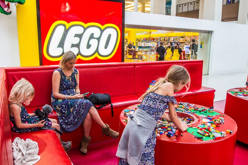 Der Lego-Store in der Mall of America