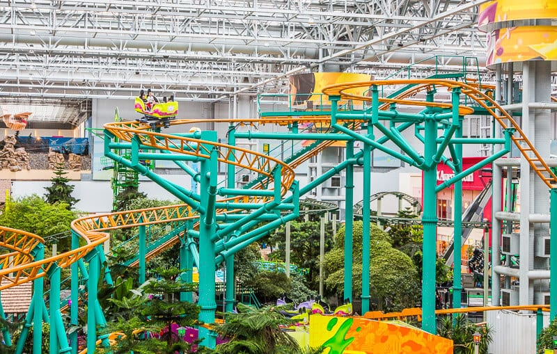 Failry Odd Coaster, Mall of America