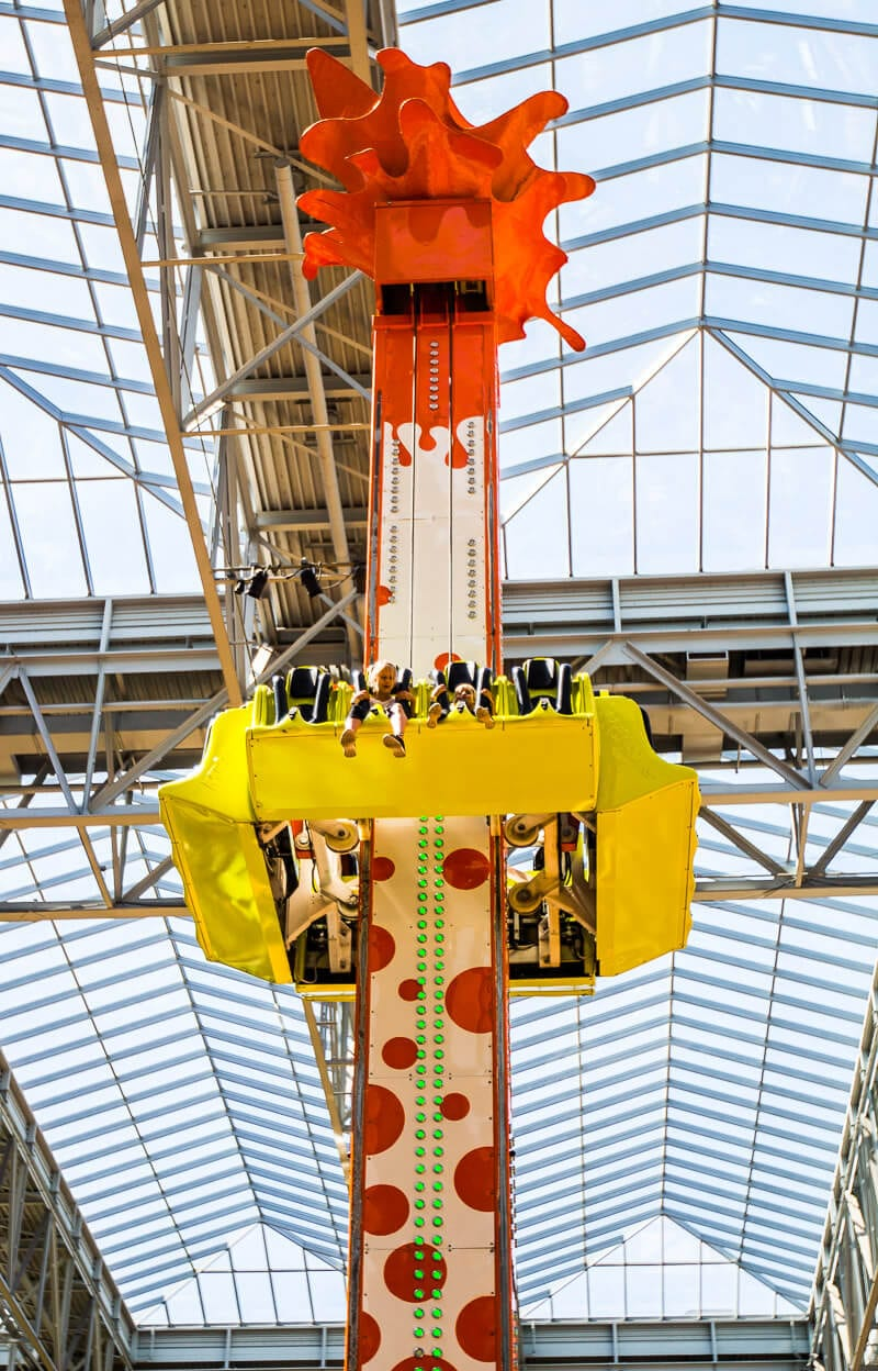Splat-O-Sphere, Mall of America, Bloomington, Minnesota