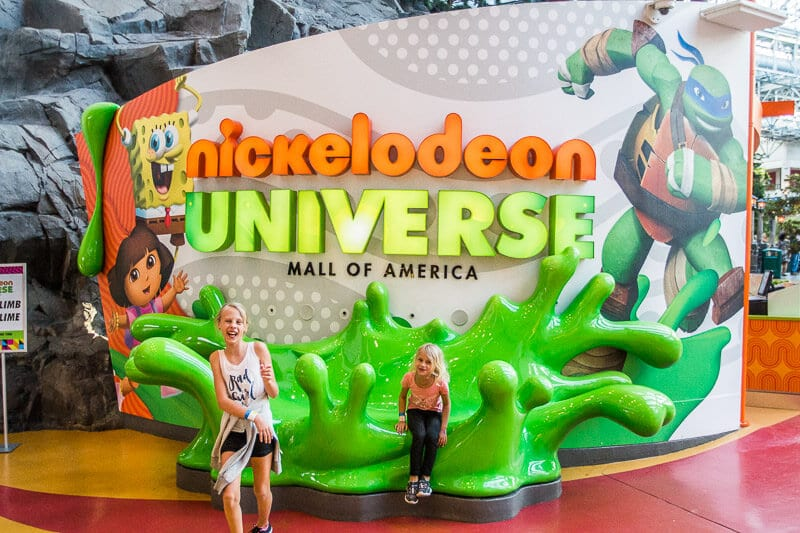 Nickelodeon Universe, Mall of America