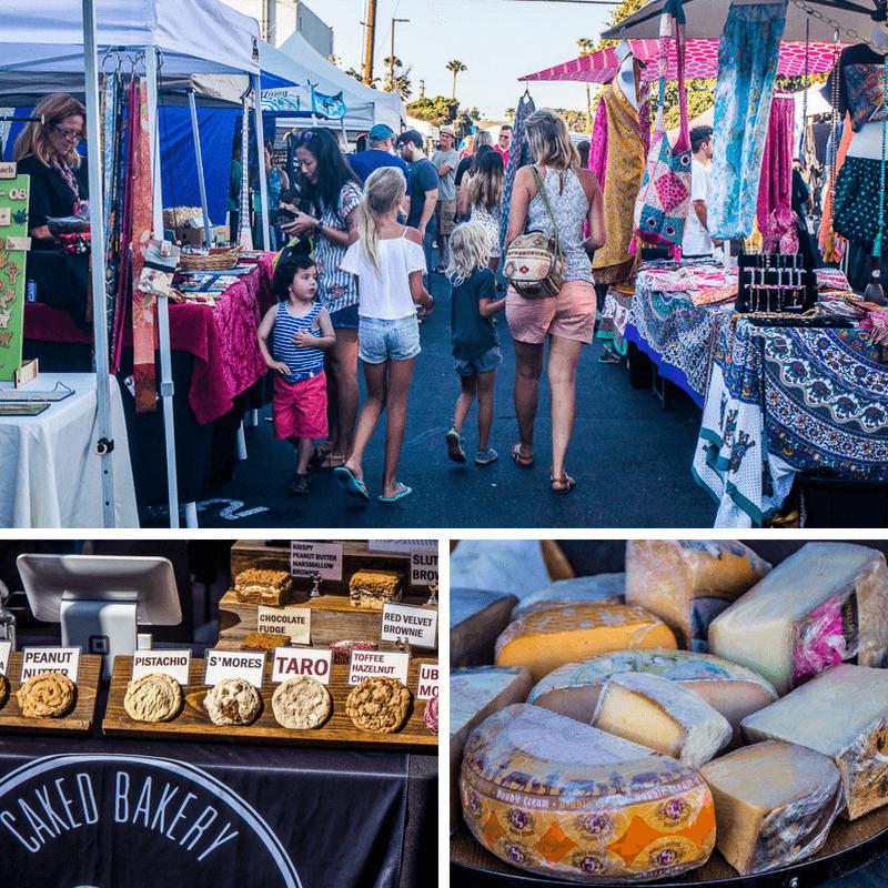 Ocean Beach Farmers Market, San Diego, California