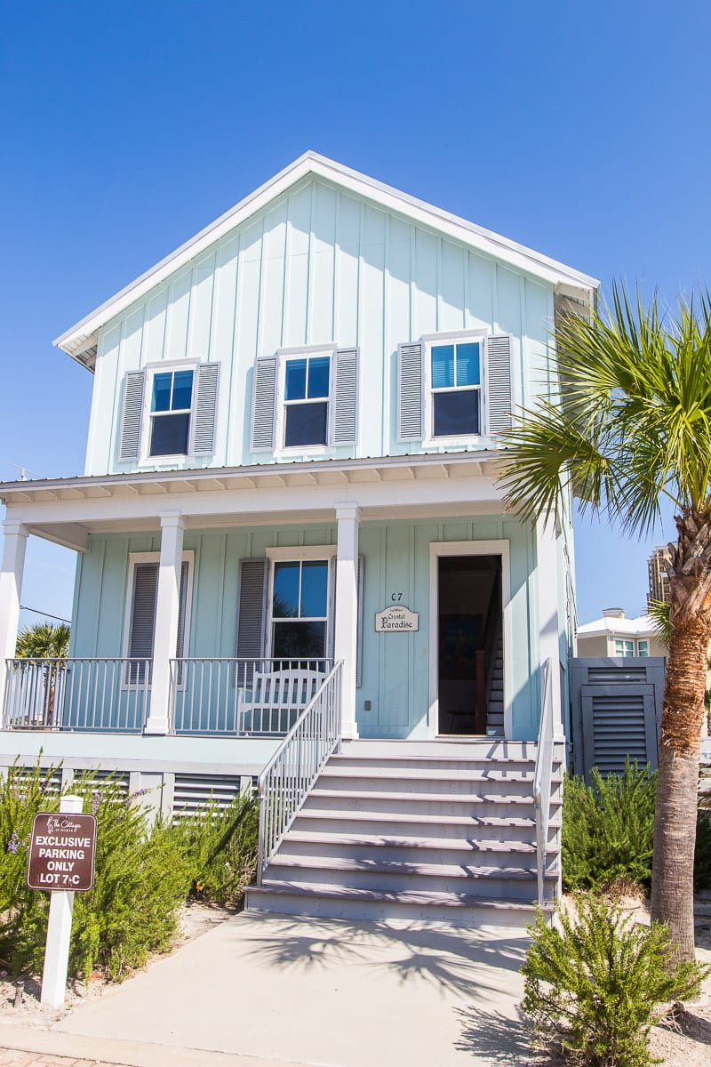 Beach Cottage at Orange Beach, Alabama