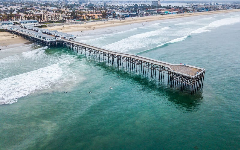 Pacific Beach Pier, San Diego, California