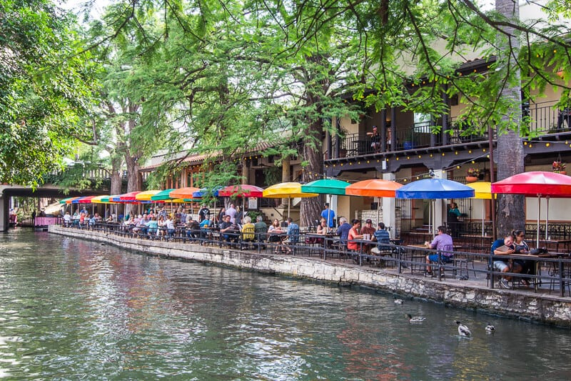 restaurants san antonio river walk texas