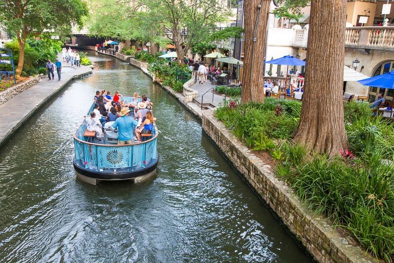 San Antonio River Walk, Texas.