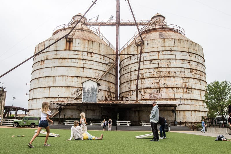 Visiting the Silos Waco Texas Fixer Upper