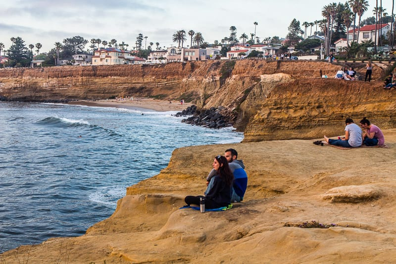 Sunset Cliffs Natural Park, San Diego, California