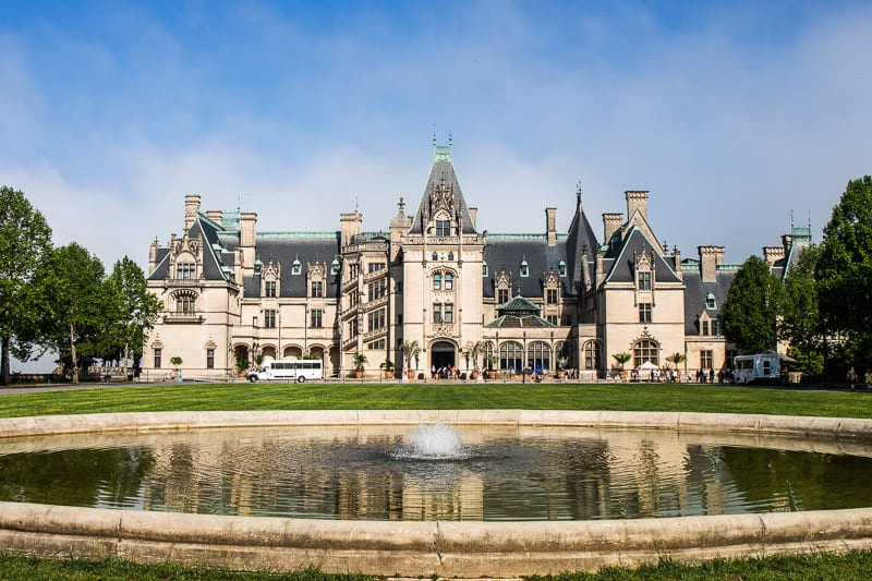 The Biltmore house and estate, north carolina