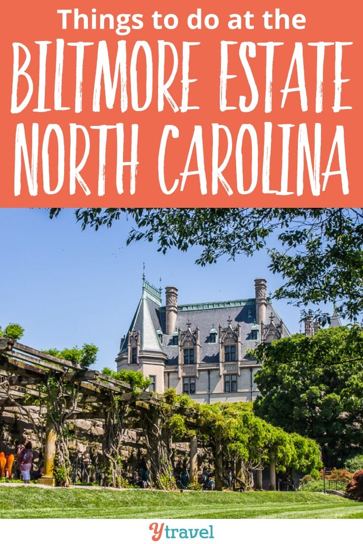 Things to do at the Biltmore Estate and Gardens in Asheville North Carolina. It's America's largest private home and a fun, stunning place to visit with lots of fun things to do. Click to read more