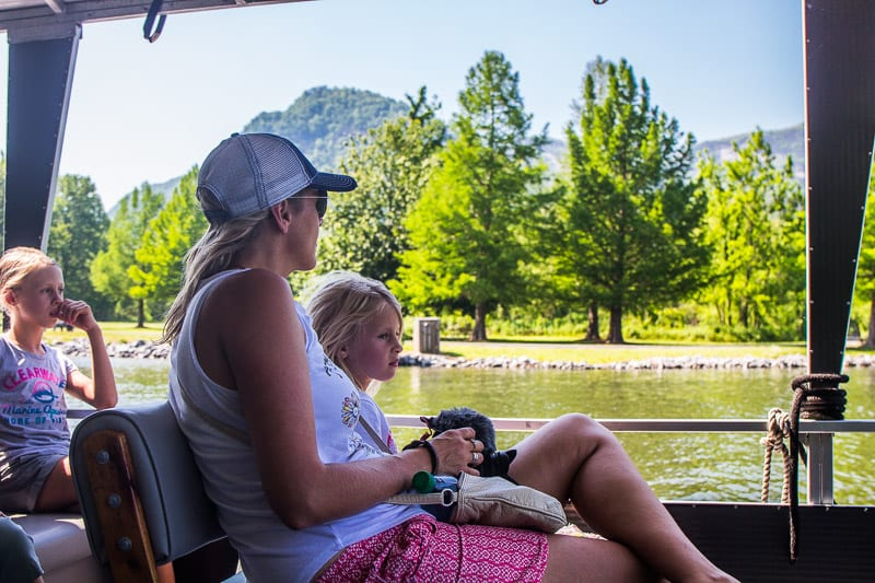 things to do in lake lure nc boat cruise