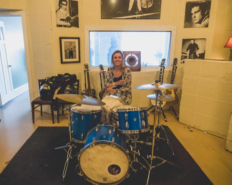 u2 rattle and hum drums Sun Studio memphis tennessee
