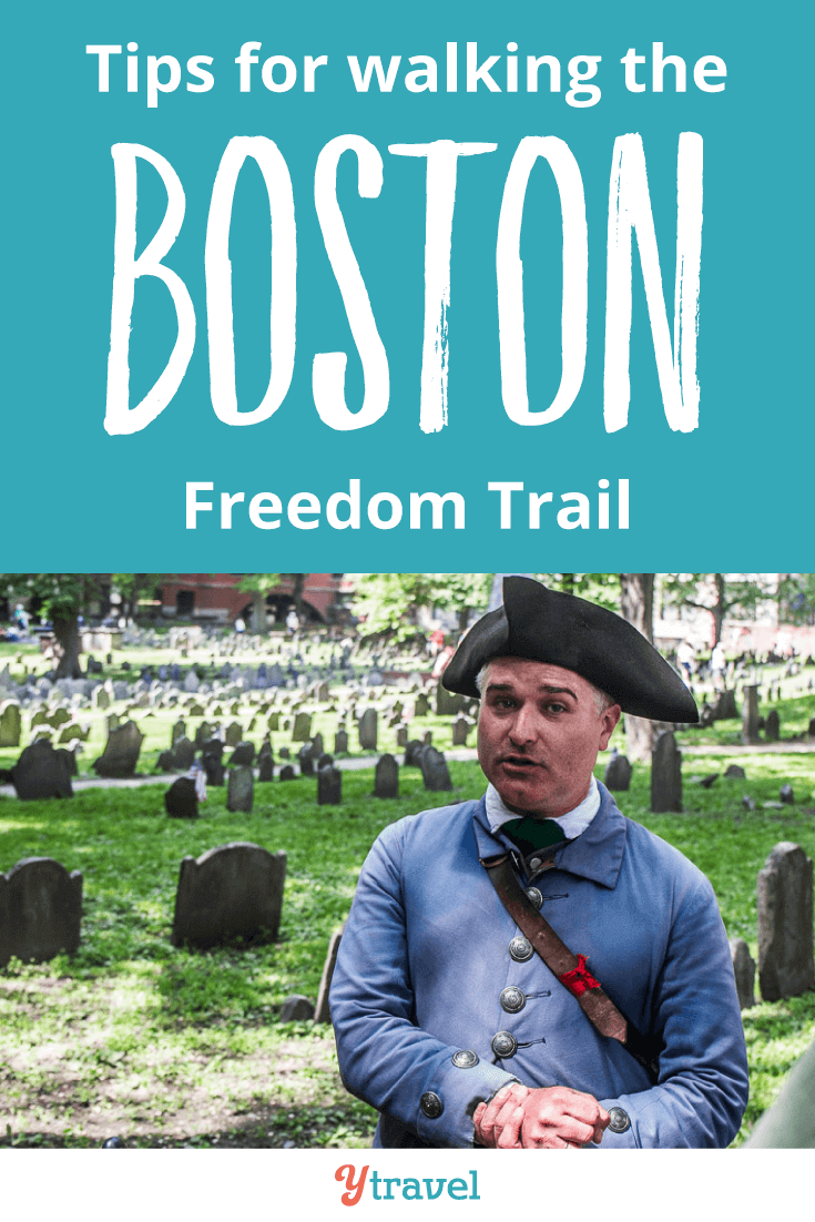 Check out these tips before you head out to the Boston Freedom trail.