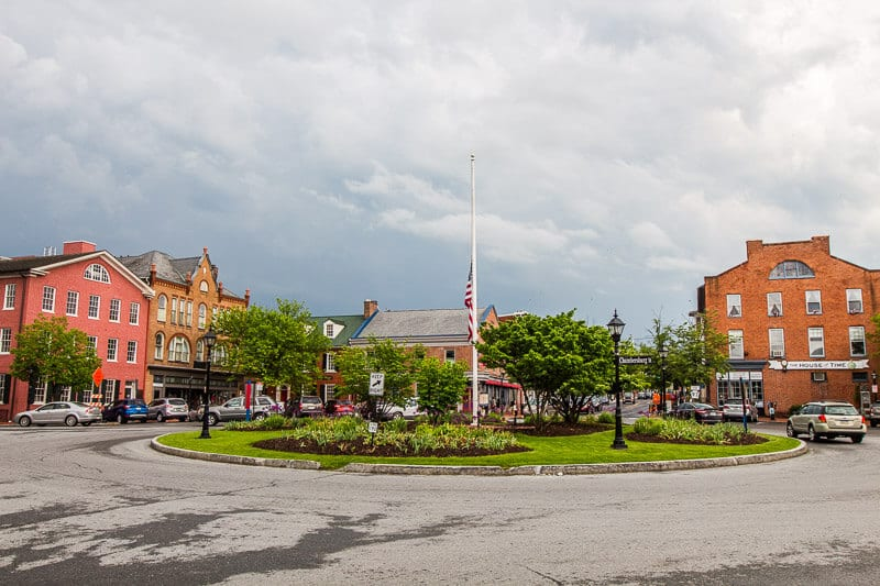 Downtown Gettysburg Pennsylvania
