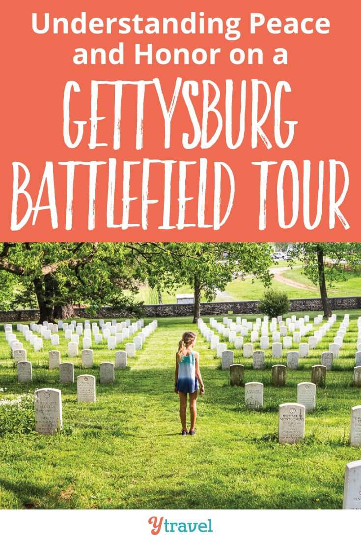 A visit to the Gettysburg Battlefields provides a time for curiosity and reflection. WE can learn from the Civil War history and any battlefields and find the peace within the horror and how to move forward