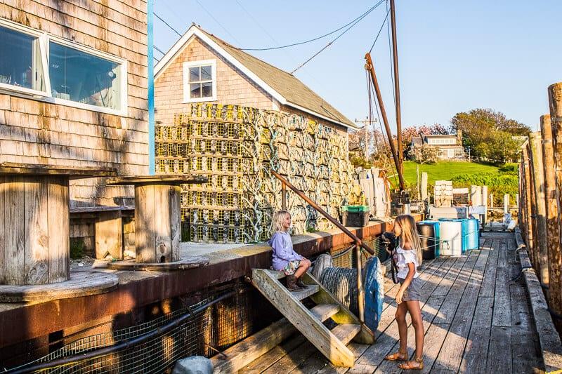 Menemsha in Martha's Vineyard, Massachusetts