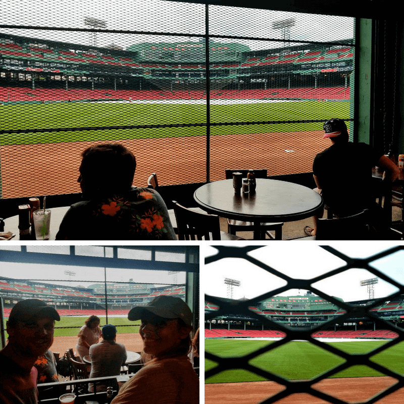Bleacher Bar at Fenway Park - Boston Red Sox game