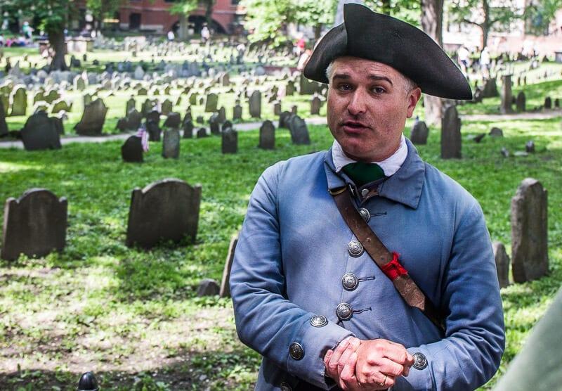 Boston Freedom Trail Tour