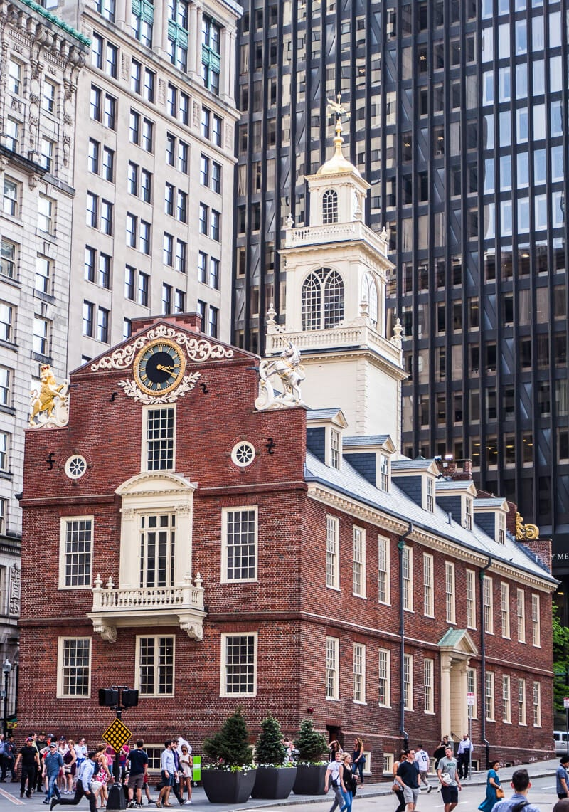 Old State House in Boston - See this building on a Boston Freedom Trail Tour
