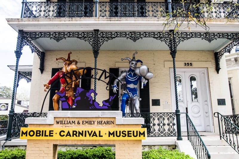 Explore the Carnival Museum in Mobile, Alabama