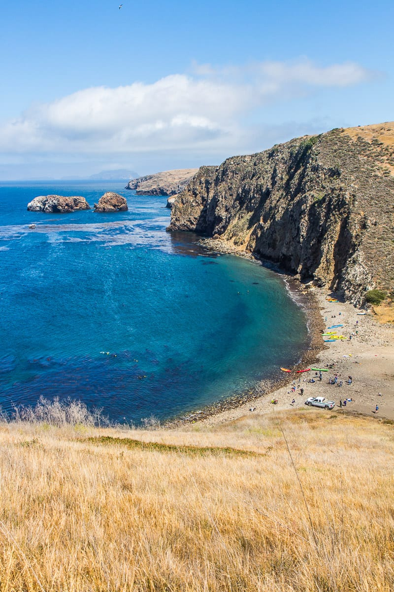 Hiking in Channel Islands National Park, California