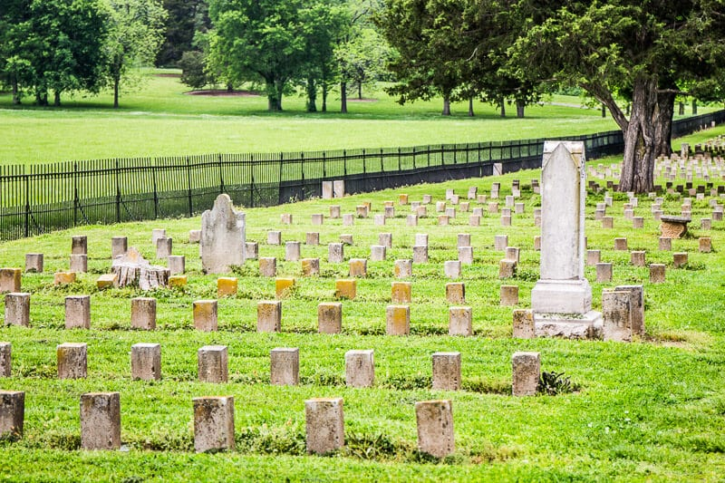confederate cemetery Carnton House Franklin Tn