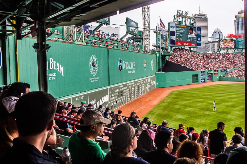 The Green Monster, Fenway Park, Boston