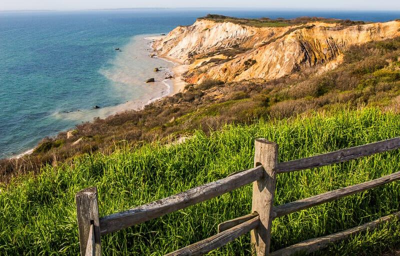 Aquinnah Cliffs dans Martha's Vineyard