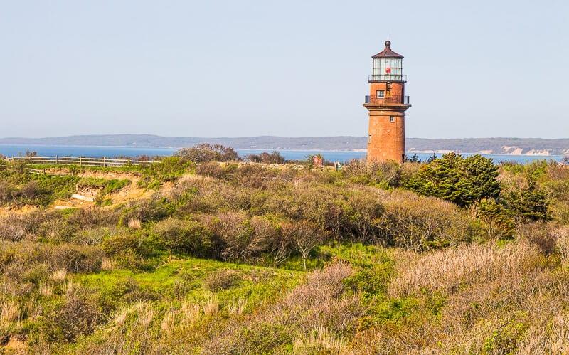 Gay Head Lighthouse in Martha's Vineyard