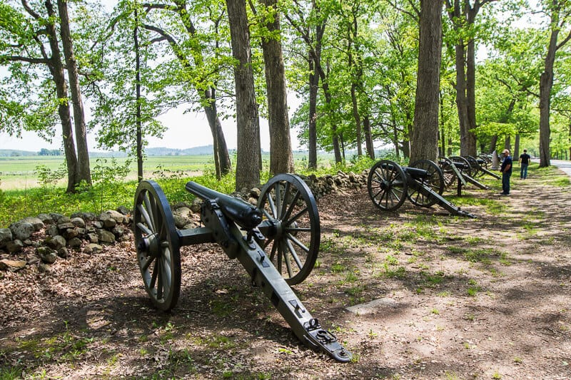 Gettysburg Battlefield tour National Military Park