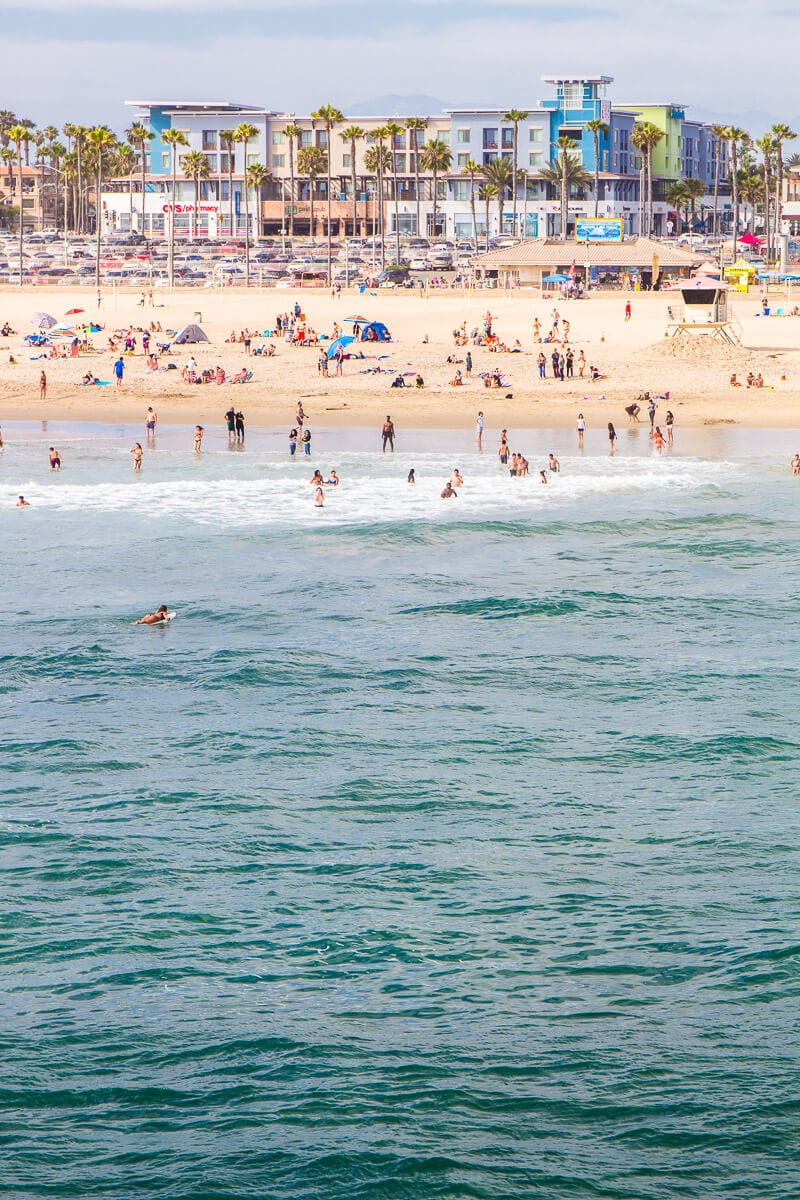 Huntington Beach, California. One of the best places to visit in Orange County