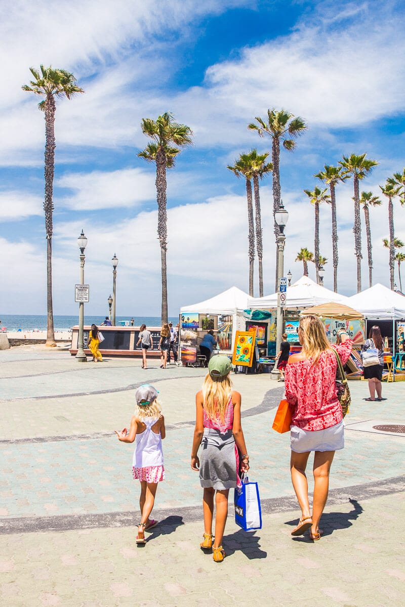 Shopping in Huntington Beach, California