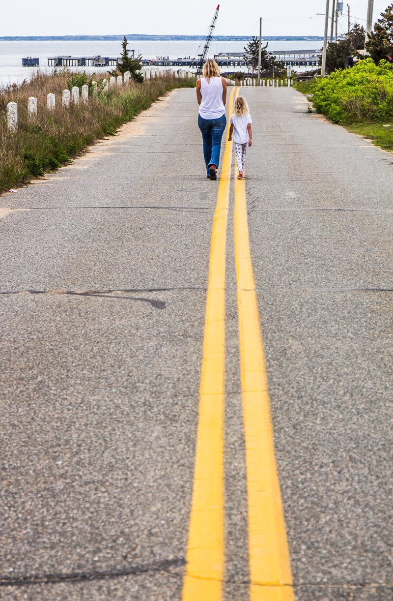 Route East Chop à Oaks Bluff, Martha Vineyard
