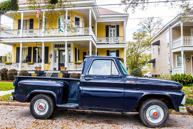 Explore the Oakleigh Garden Historic District in Mobile, Alabama
