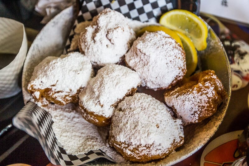 Breakfast and Beignets at Panini Petes!
