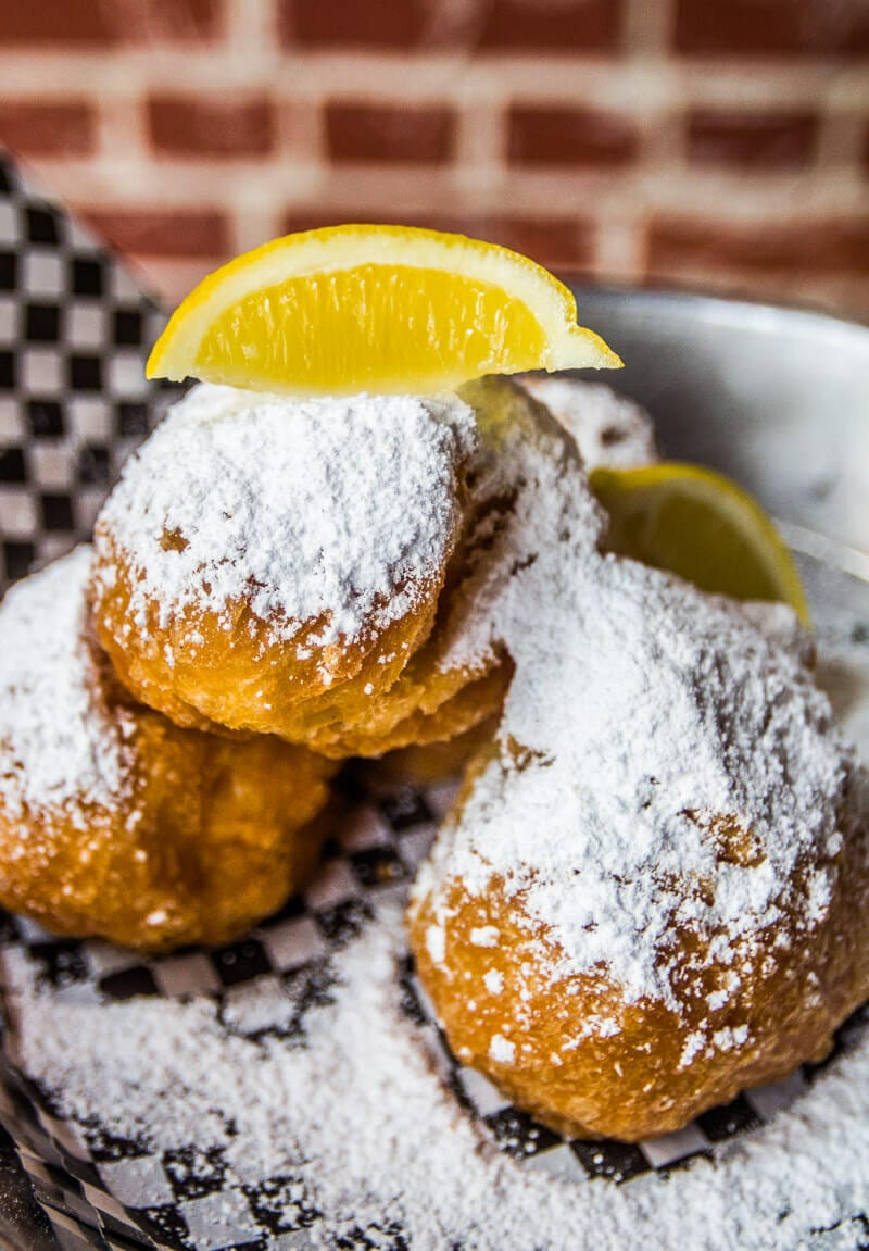 YUM - Breakfast and Beignets at Panini Petes in Mobile, Alabama