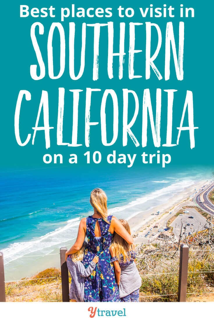 10 day itinerary. Best places to visit in Southern California (beyond Disneyland). Tips for San Diego, Orange County and Ventura County. Plus tips on where to eat, drink, and stay. Click now for all the best tips for planning a trip to Southern California
