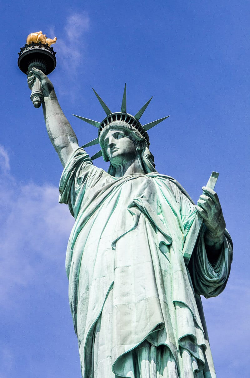 Statue of Liberty - one of the best things to do in New York