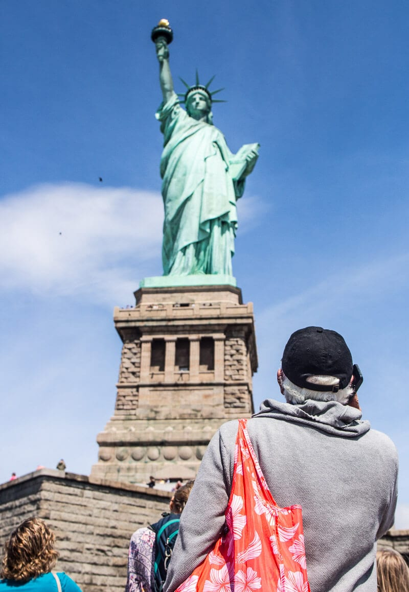 Statue of Liberty tour - one of the top things to do in New York City