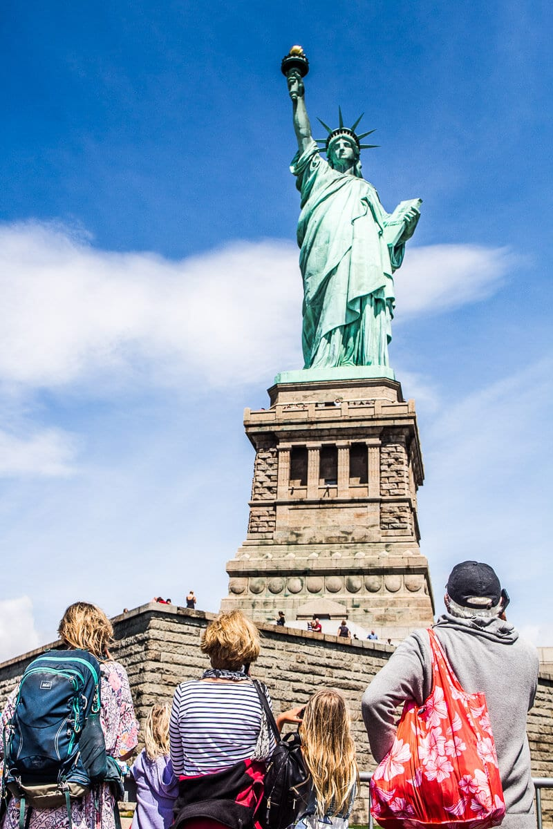 Statue of Liberty tour - one of the best things to do in NYC. Click inside for a 3 day NYC itinerary!