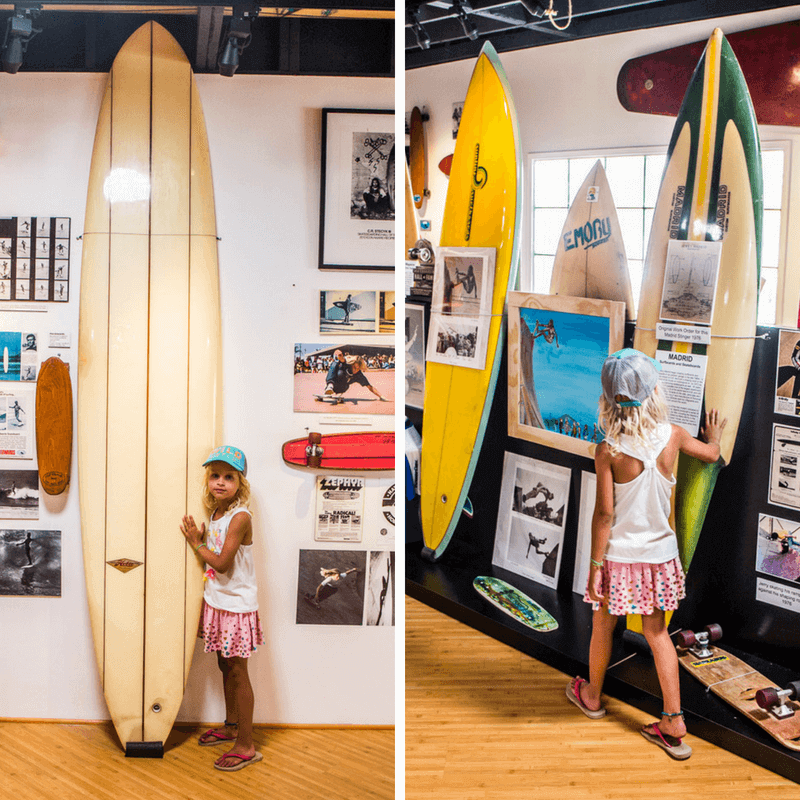 Surfing museum in Huntington Beach, California