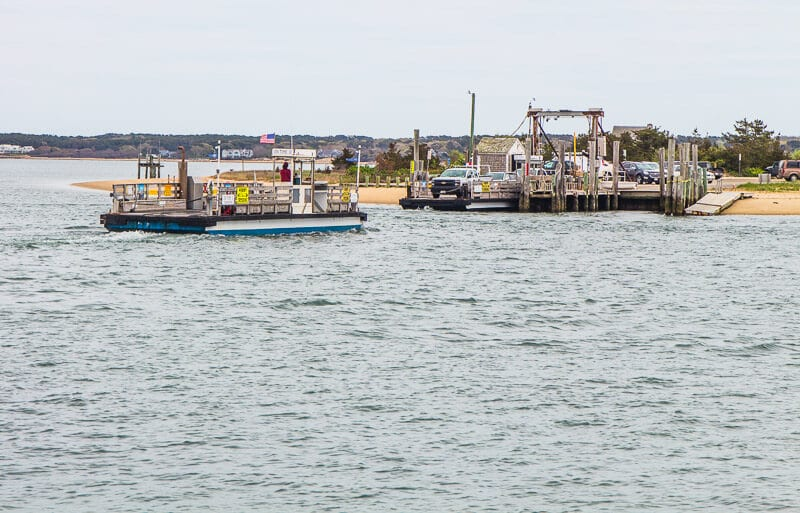 Chappaquiddick Island ferry