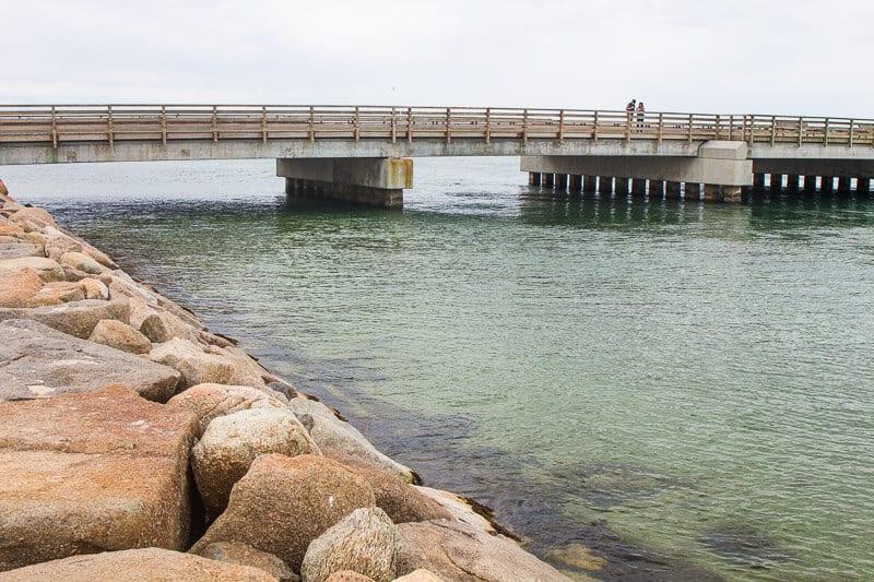 The Jaws Bridge on Martha's Vineyard