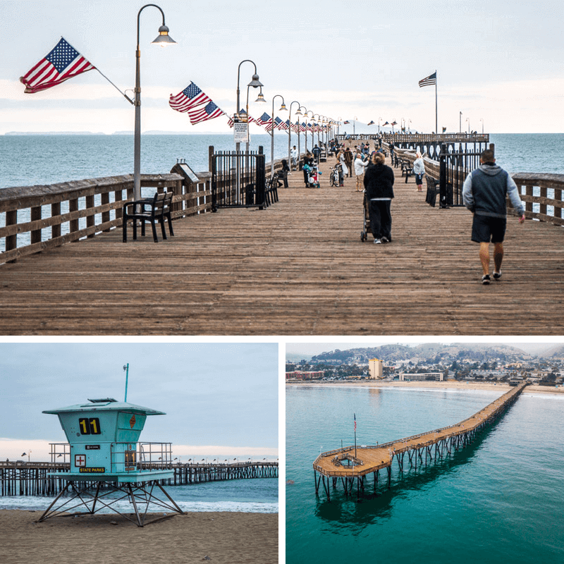 Ventura Pier Beach, Ventura, CA - California Beaches