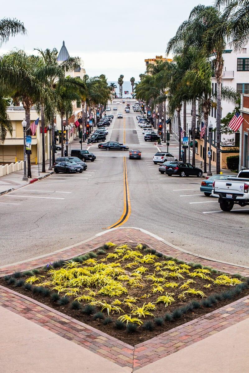 Downtown Ventura, California