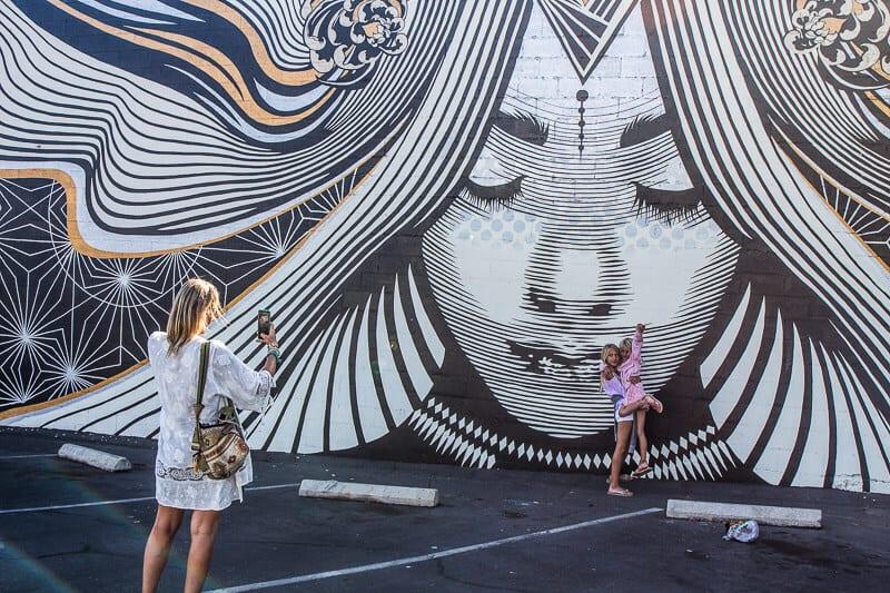 Mural in Downtown Ventura, California