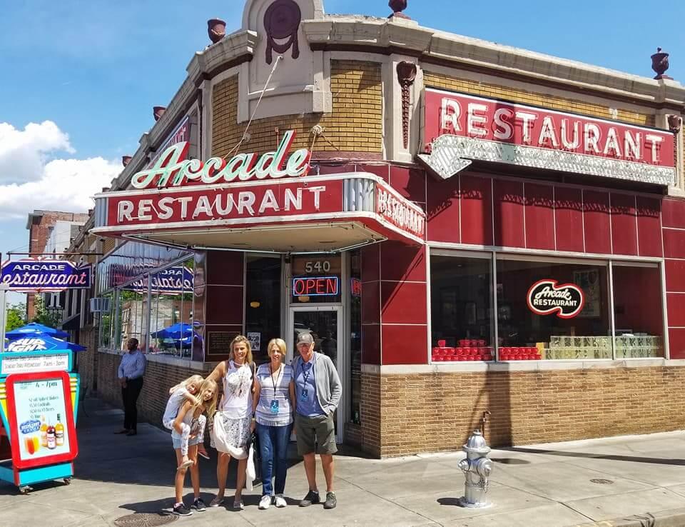 Arcade Diner in Memphis
